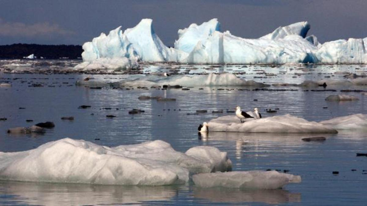 Rise in CO2 to melt worlds glaciers