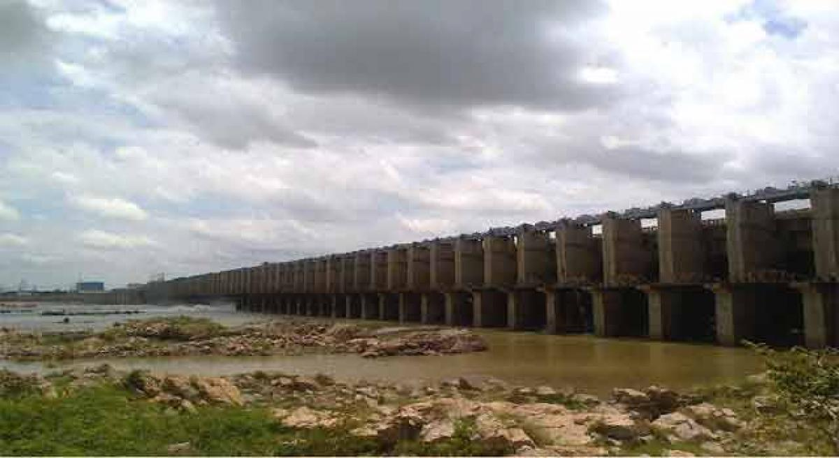 Telangana State receives 0.5 tmcft water from Narayanpur dam