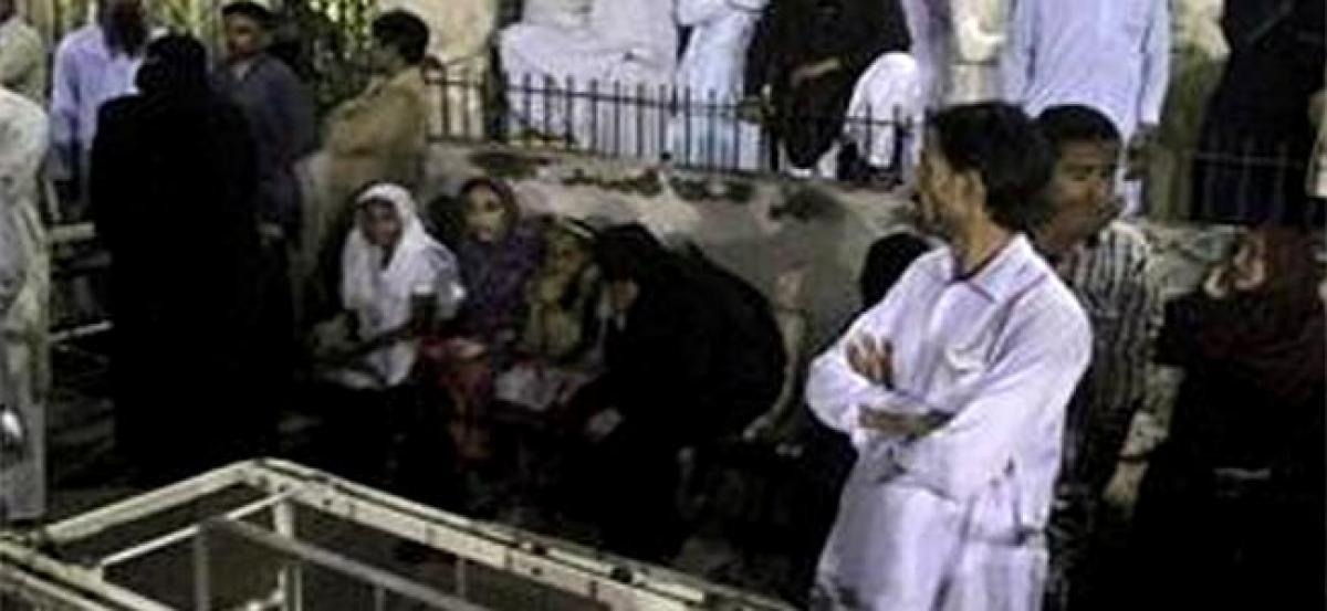 Pak kills over 24 militants in crackdown after shrine blast