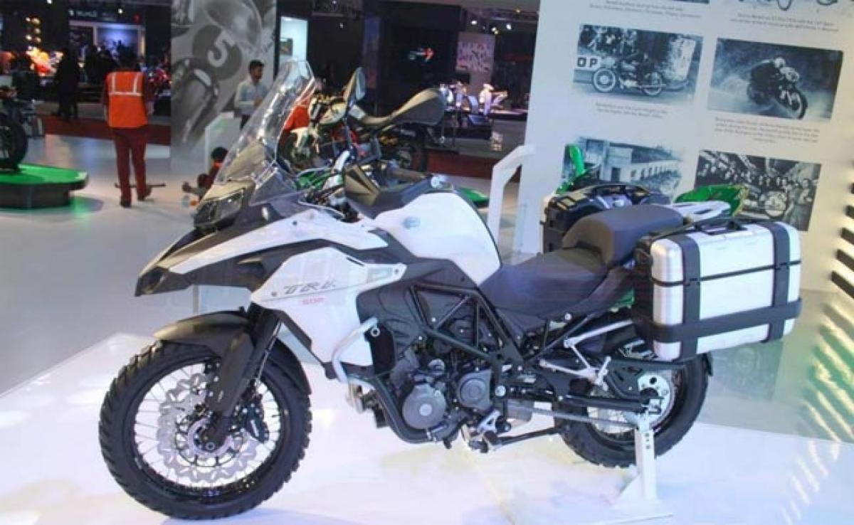 Benelli TRK 502 – 2016 Auto Expo