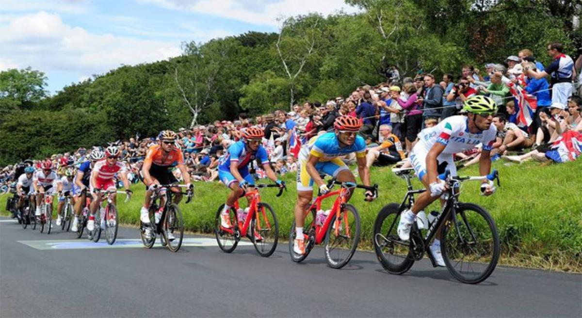 Blast at Olympics cycling finish line