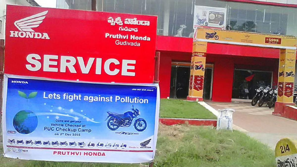 Honda celebrates National Pollution Control Day