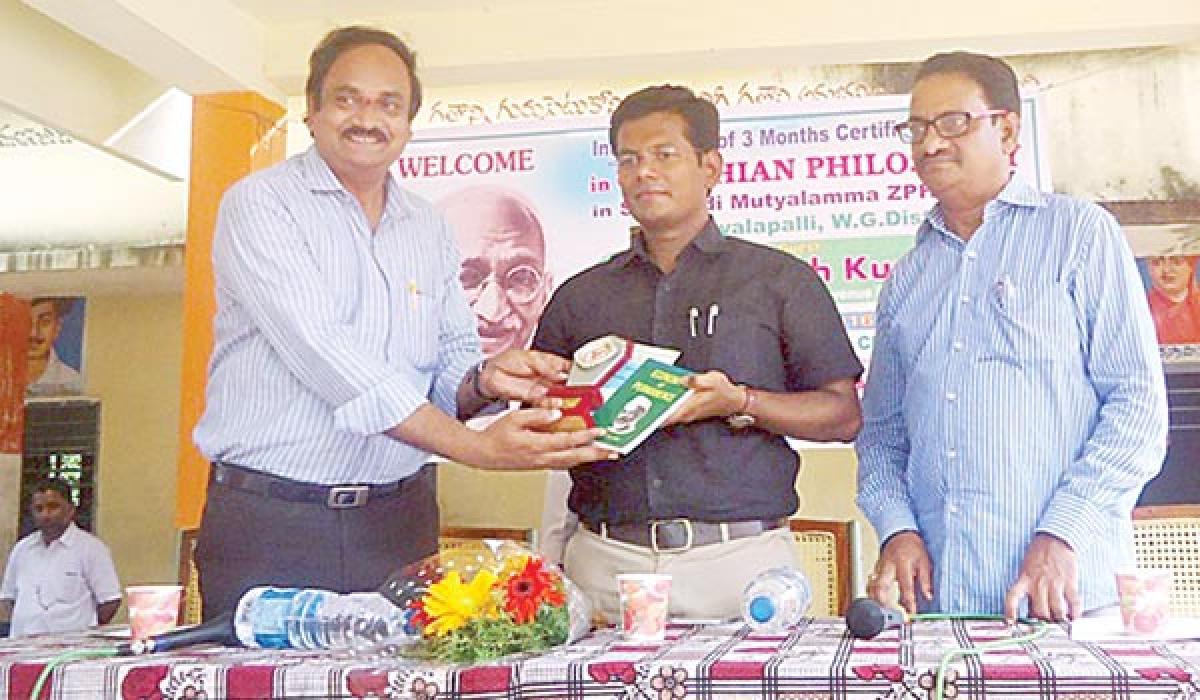 Course in Gandhian philosophy launched
