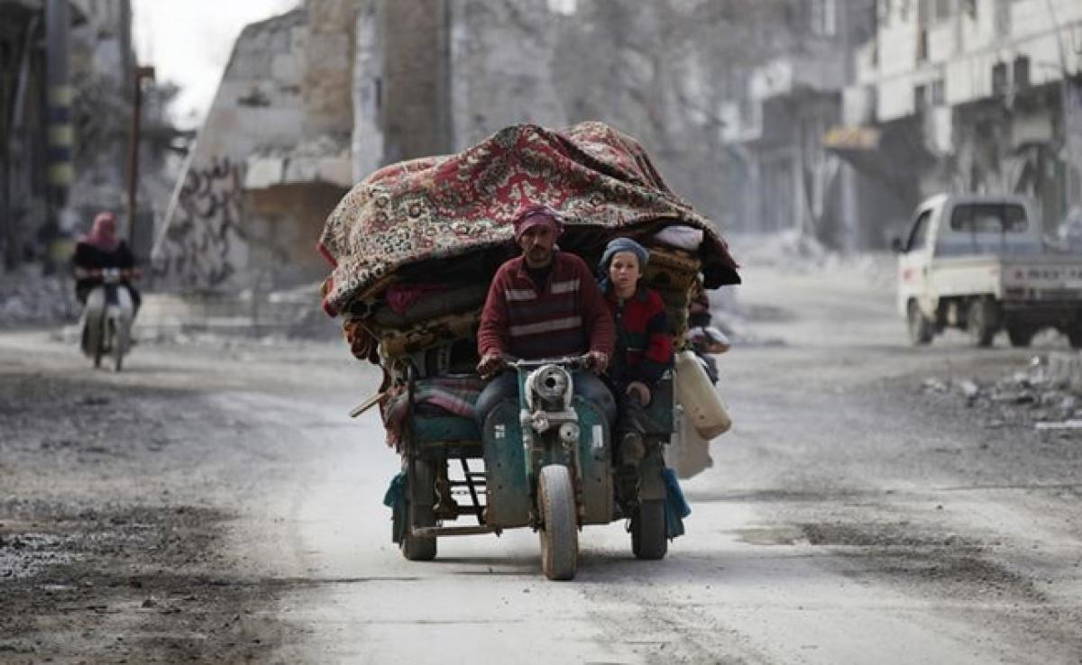 Far From Wars Front Lines, Life In Syria Is Still Tough