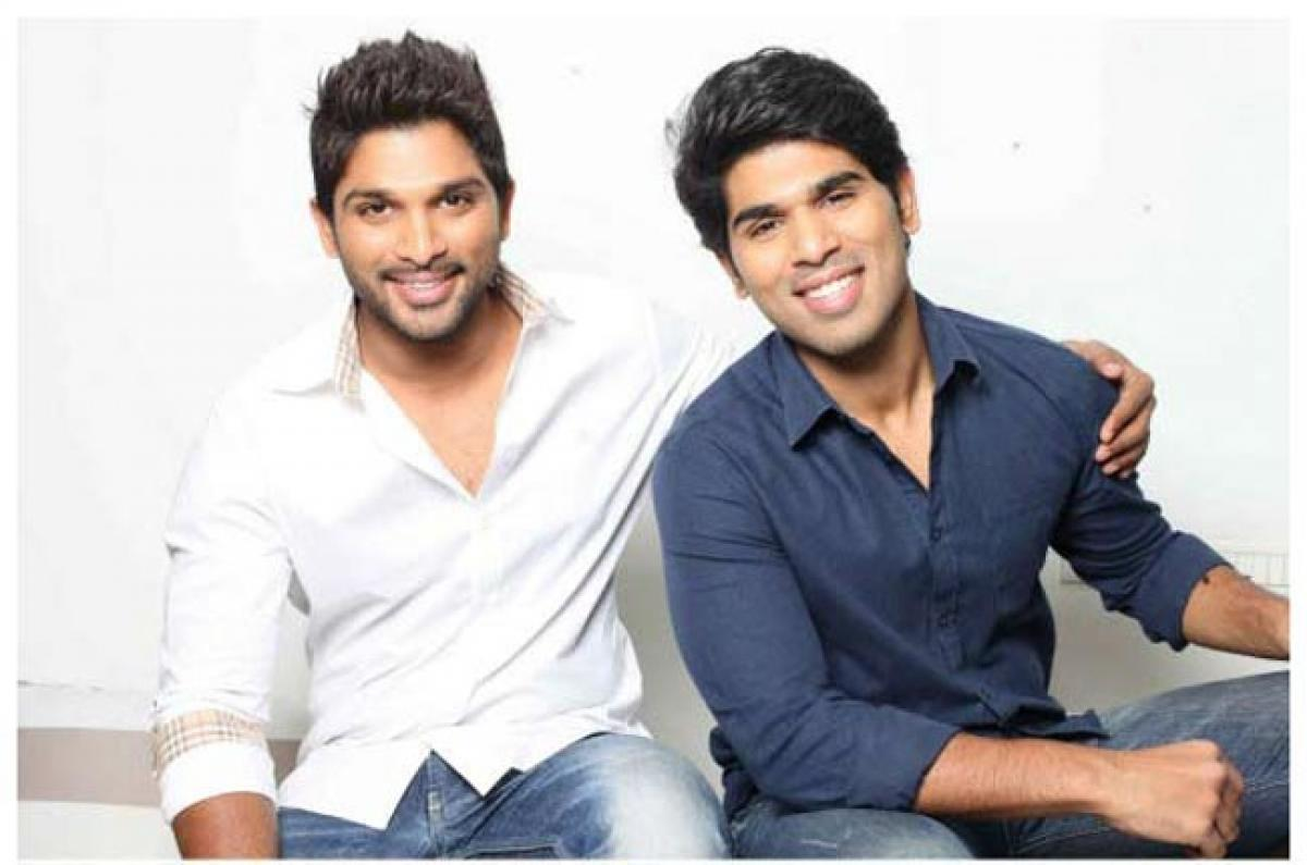 Bunny gets special wishes from Bro Allu Sirish