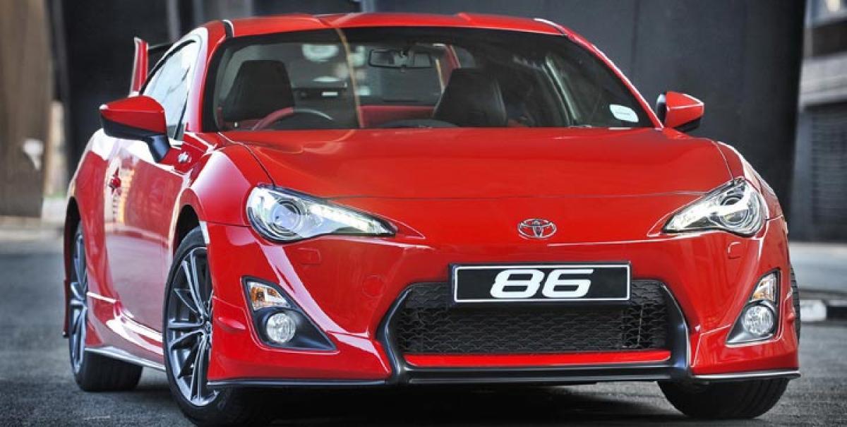 Toyota GT86 facelift revealed