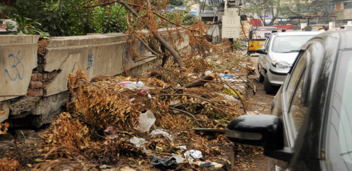 A slum in the making