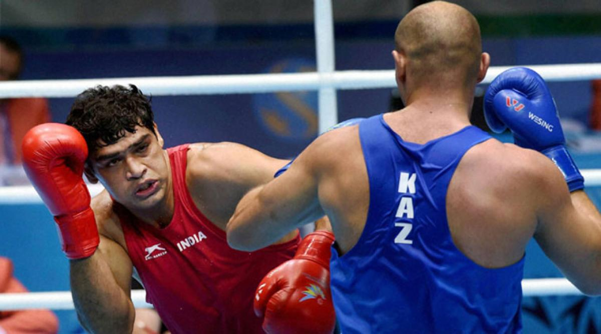 Satish Kumar bows out in Asian Boxing Championships quarterfinal