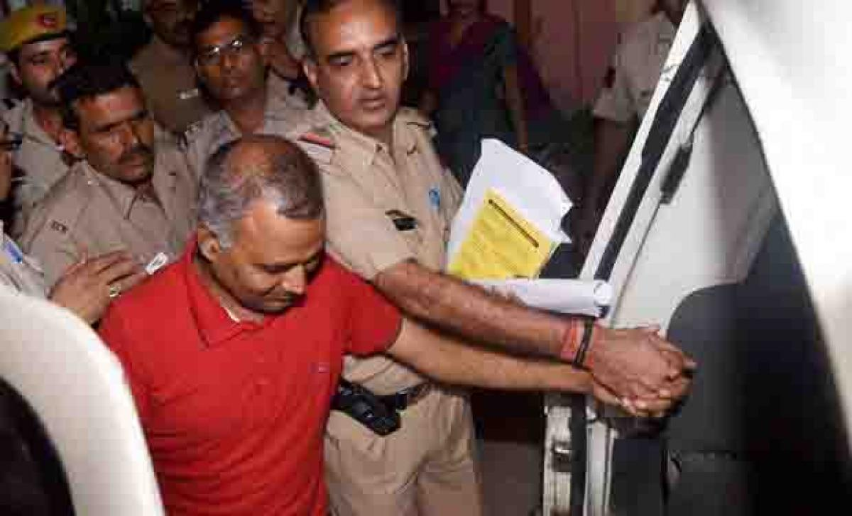 Police to produce Somnath Bharti before court today