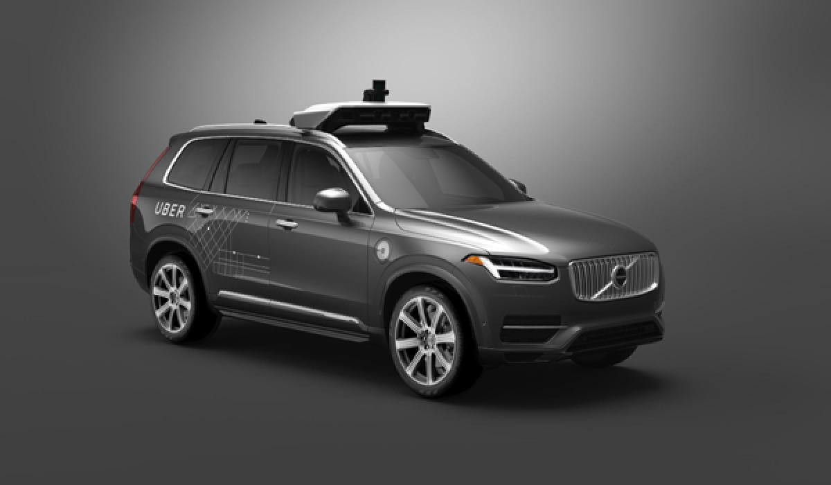 Uber Offers Self-Driven Volvo XC90s To Customers