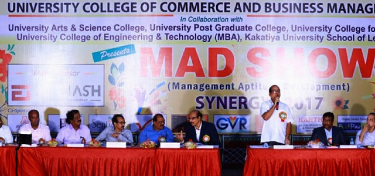 Management students told to meet international benchmarks