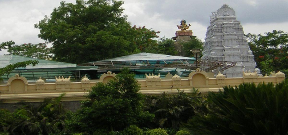 Temple lands encroached