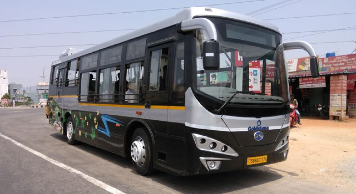 RTC to run e-bus in Tirumala; if feasible, in Amaravati too
