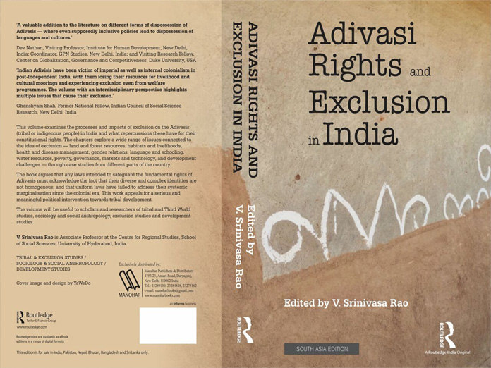 Book on Adivasi Rights and Exclusion in India out