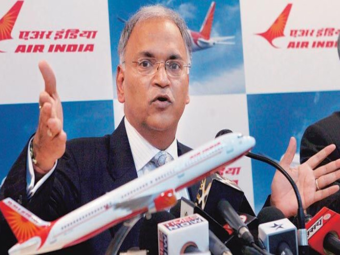 Former Air India chief booked by CBI