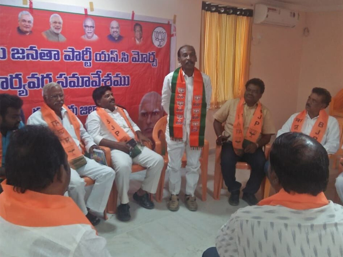 Propagate Central schemes, BJP cadres told in Guntur