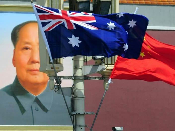 China says Australian held on national security grounds
