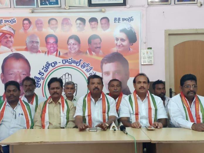 BJP jittery over Priyanka's entry: DCC president Eda Sudhakar Reddy
