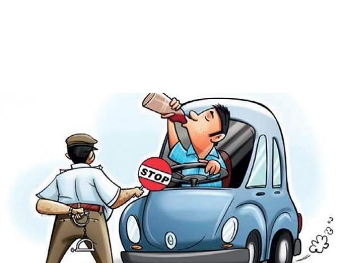 16 drunken drivers sent to jail in Prakasam district