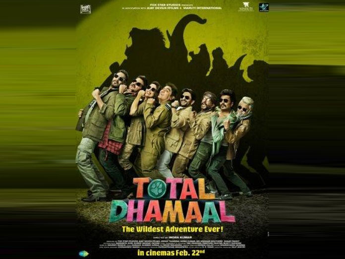 Ajay Devgn Unveils Total Dhamaal Official Poster