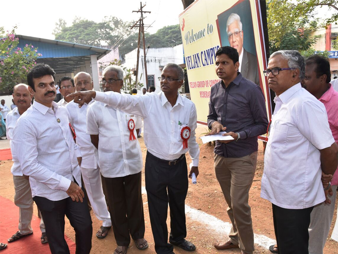 Land for medical college building inspected