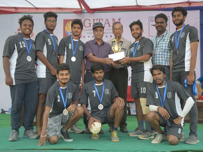 Sports fest at GITAM ends on high note