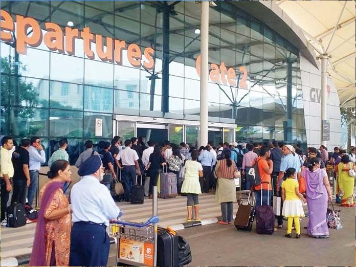 No boarding pass stamping at GVK Mumbai Airport