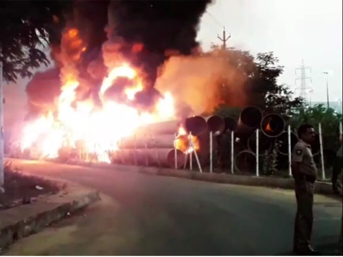21 water pipelines gutted