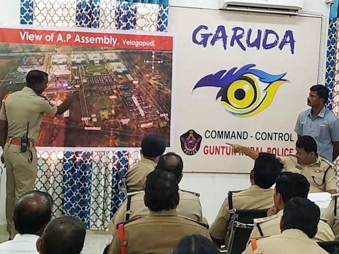 Police on toes as Assembly session begins in Guntur district