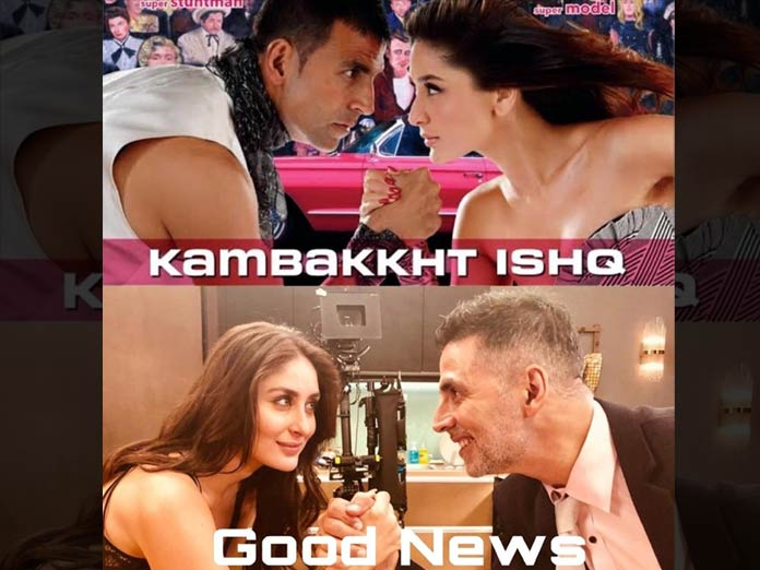 Akshay Kumar Kick-stars Good News With 10 Year Challenge