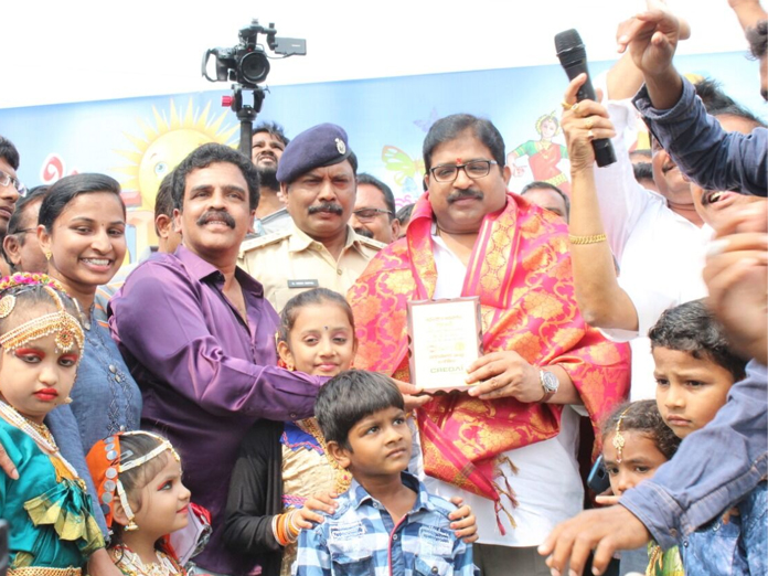 Happy Sunday second anniv fete held in Ongole