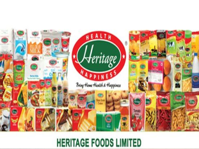 Heritage Foods Q3 net at Rs 20 cr