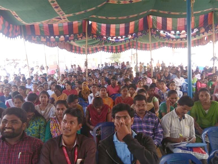 784 get employment at job mela in Ongole