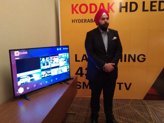 Super Plastronics launches Kodak 4k UHD TV