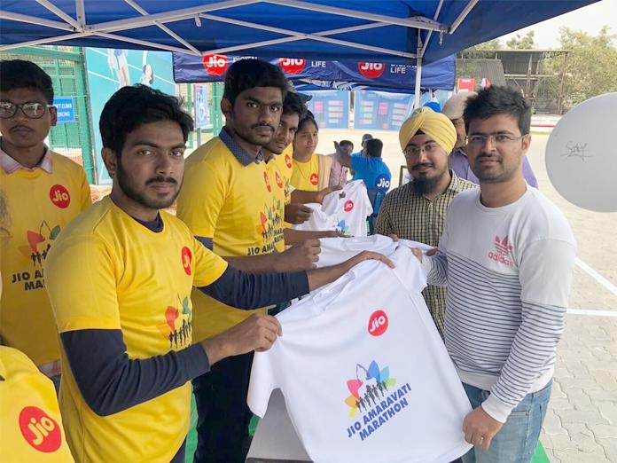 5,000 to attend 'Jio Amaravati' marathon tomorrow