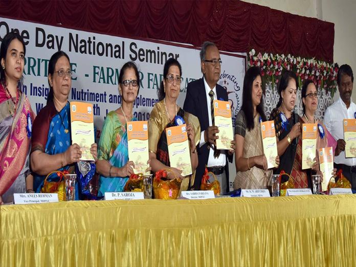 National seminar on nutriment