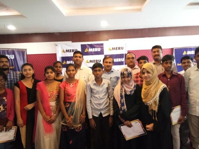 Meru awards scholarship to children of driver partners