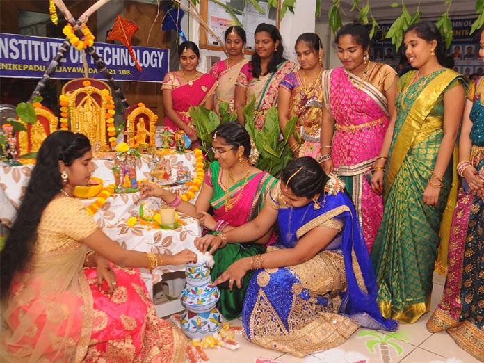 Its celebrtion time on SRK campus in Vijayawada