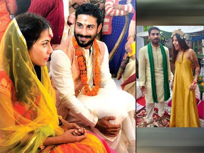 Prateik Babbar And Sanya Sagar Are Married! Congratulations