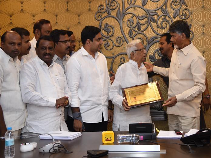 Rashtriya Seva Samithi bags Smart AP Foundation Award