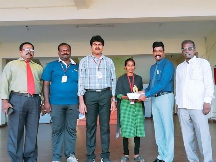 Rise Krishna Sai student selected for inter-varsity tourney