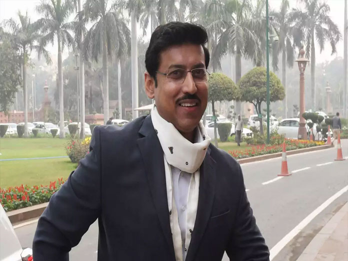 Sports Minister Rathore launches