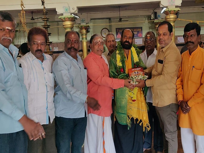 11th visit in a row to Sabari on foot