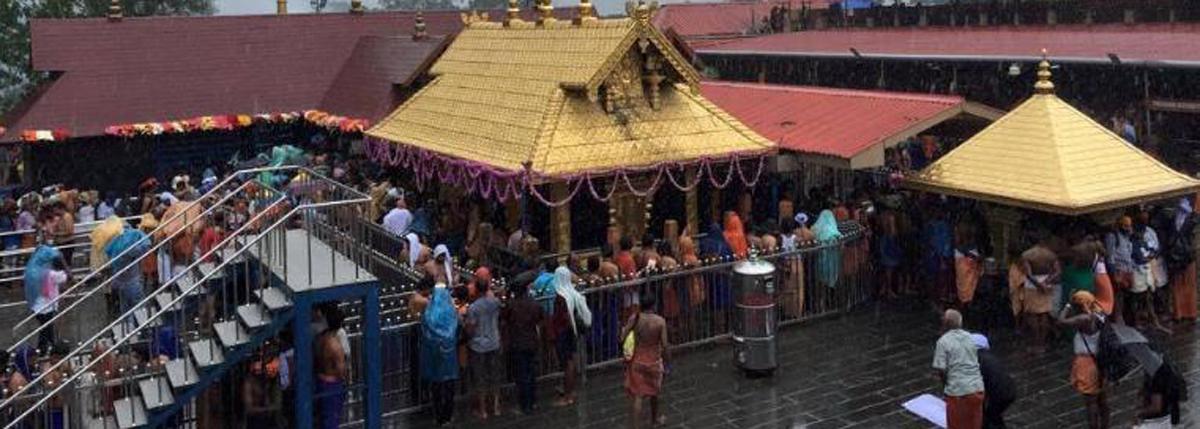 40% fall in pilgrims to Sabarimala from AP, TS
