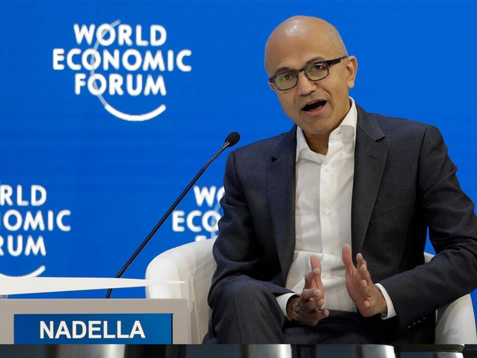 Nadella bats for equitable economic growth