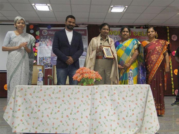 Women told to be self-confident at an awareness programme in Vijayawada