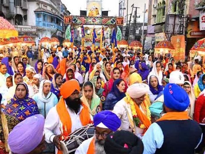 Sri Guru Gobind Singh Jis 352nd birthday celebrations today