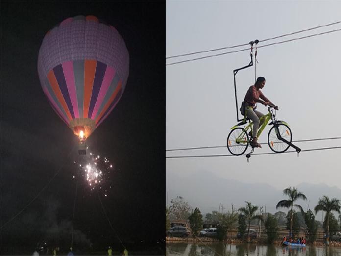 Aero Sports Festival gets good response at Sitampeta