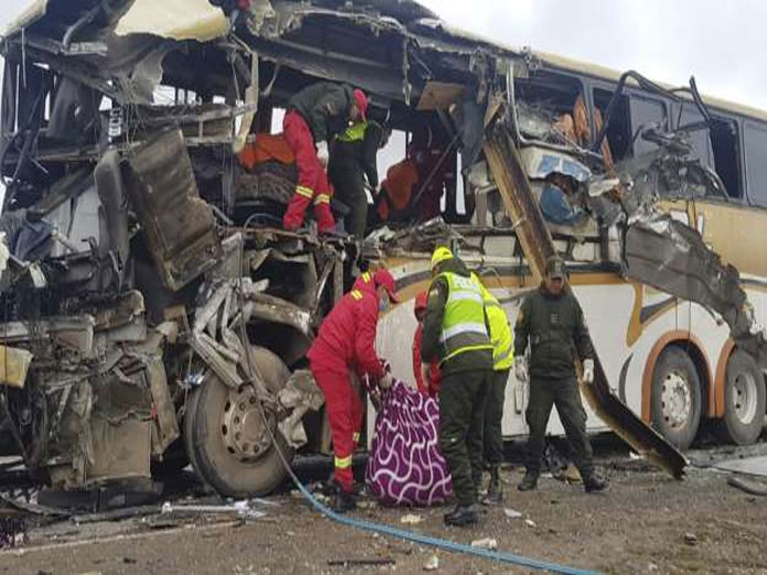 22 killed in Bolivia road accident