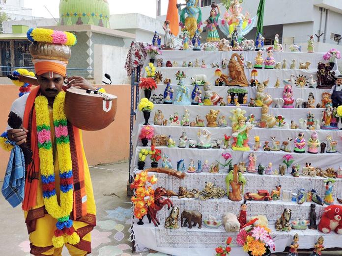 Villages wear festive look